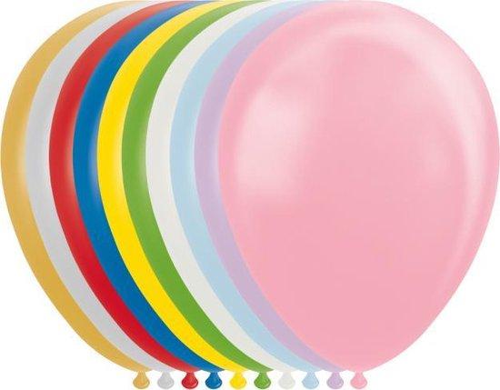 Wefiesta Ballonnen Metallic/parel 30 Cm Latex 10 Stuks