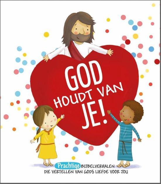 Boek cover God houdt van je! van Cecilie Fodor (Hardcover)