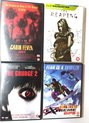 DVD Set -4 Stuks - The Reaping, Cabin Fever, The Grudge 2, Fear is a Trigger