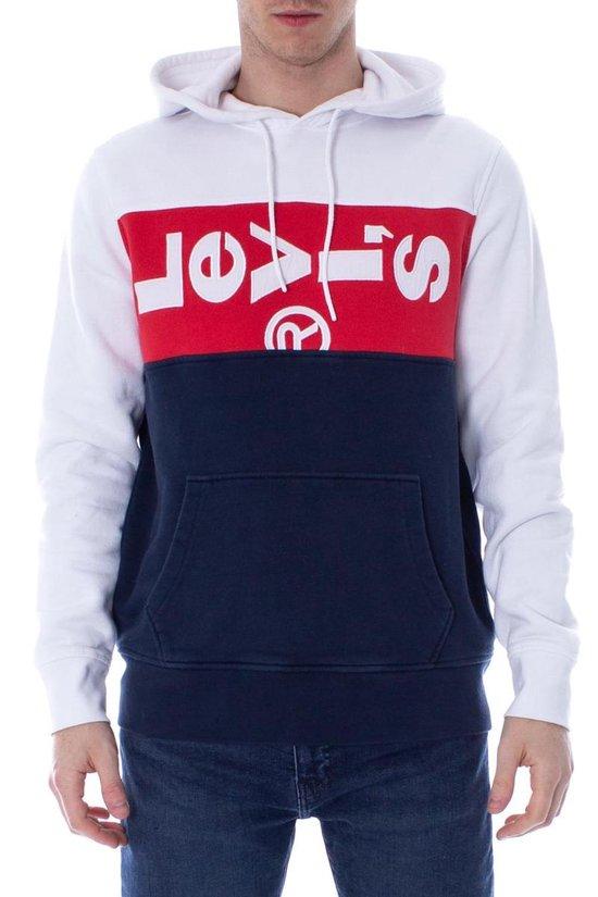 Levi's hoodie, Rood #levi's#rood#wit#capuchon | Hoodie