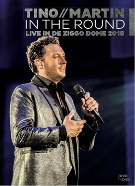 CD cover van In The Round (Live in de Ziggo Dome 2018) van Tino Martin