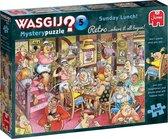 Wasgij Retro Mystery 5 Zondagse Lunch! puzzel - 1000 stukjes
