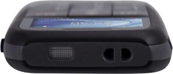 Fysic FM-7500 Big Button GSM - SOS Noodknop, Grote cijfers en letters 2 Snelkiestoetsen - Zwart