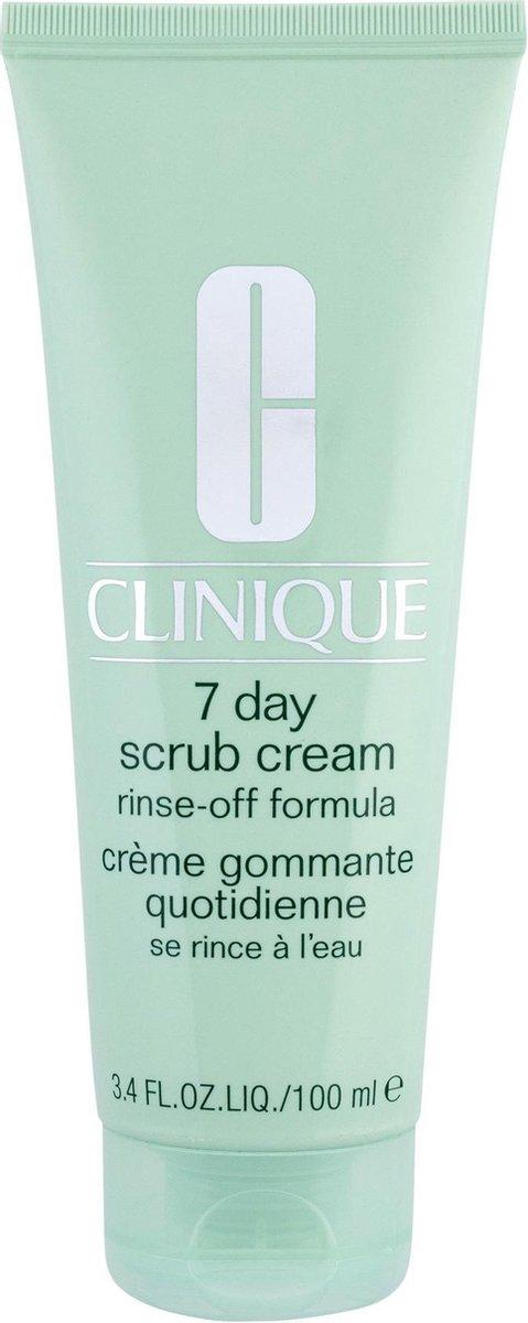 Clinique 7 Day Scrub Cream Rinse-Off Formula Gezichtsreiniger - 100 ml