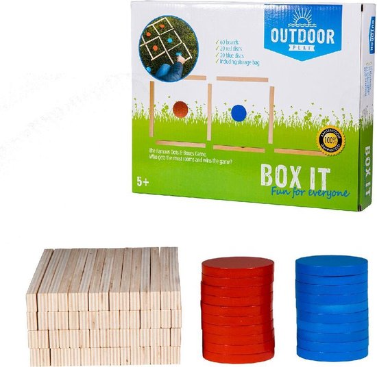 Outdoor Play Houten Box It