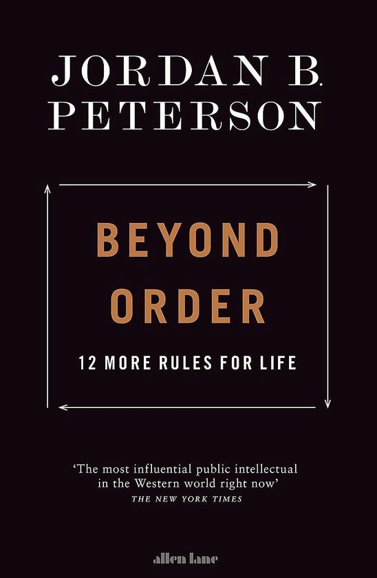 Boek cover Beyond Order van Jordan B. Peterson (Hardcover)