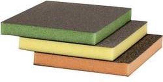 Bosch Accessoires - Schuursponsset 3-delig - 3 stuks