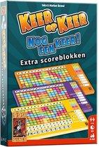 Scoreblokken Keer op Keer drie stuks Level 2, 3 en 4 Dobbelspel