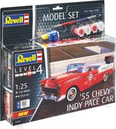 Revell Level 4 Modelset 55' Chevy Indy Pace Car