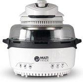 Molino Multi Fryer Halogeenoven - 12-in-1 Airfryer - Halogeen Heteluchtoven - 1400 Watt - 11 Liter