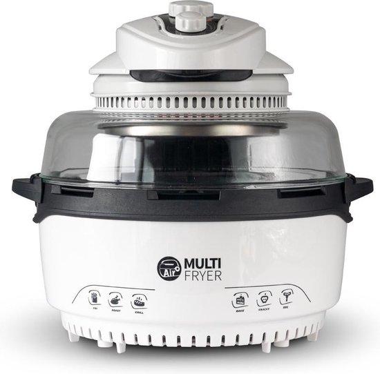 BluMill Multi Fryer Halogeenoven - 12-in-1 Heteluchtfriteuse - Halogeen Heteluchtoven - 1400 Watt - 11 Liter - Gezonde Keuze