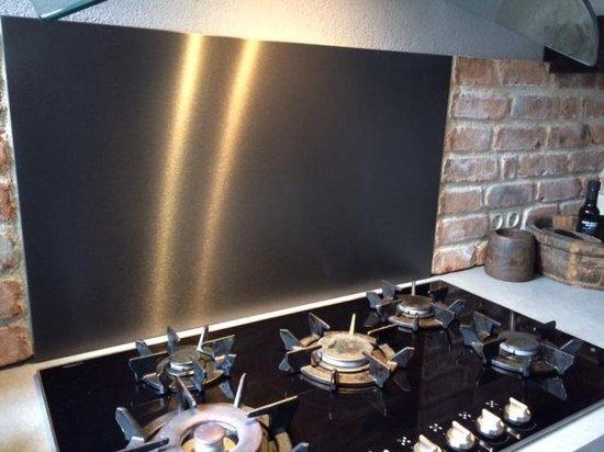 Bol Com Edel Steel Keuken Achterwand Zwart 90x70 Edelblack