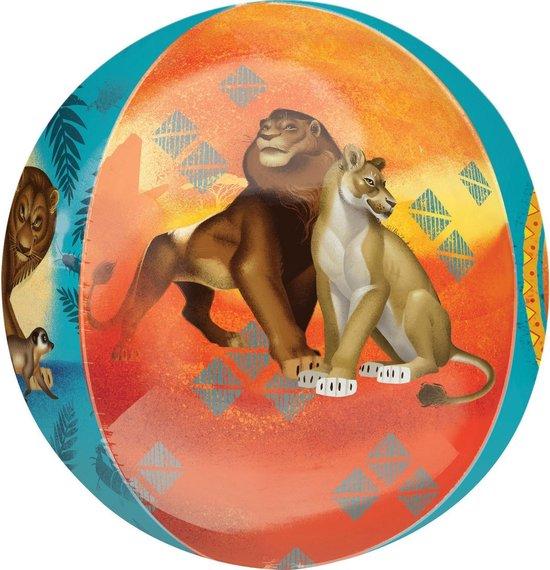 Disney Folieballon Lion King Junior 38 X 40 Cm Oranje/blauw