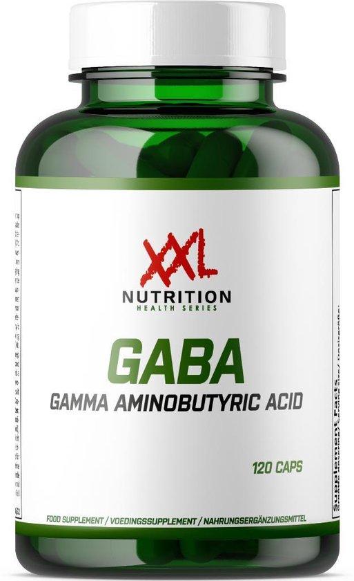 XXL Nutrition GABA 120 veggiecaps