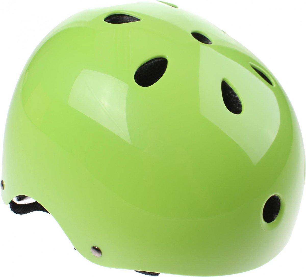 Cycle Tech fietshelm XCool groen maat 48/54 cm