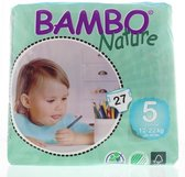 Bambo Nature luier 5 15-22kg