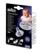 Braun Navulset Lensfilters voor Oorthermometer -  Beschermkapjes Voor Braun Thermoscan 3 / 5 / 6 / 7 - LF20 LF40 - 40 Stuks