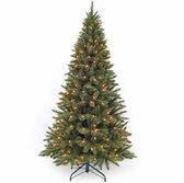 Triumph Tree Forest Frosted Pine Kunstkerstboom - 185 cm hoog - Met energiezuinige LED lampjes