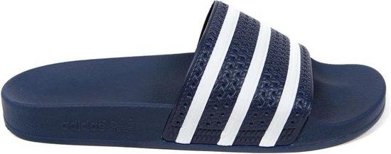 adidas Adilette Heren Slippers - Adiblue/White/Adi Blue - Maat 42