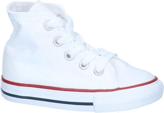 bol.com | Converse Meisjes Sneakers Ctas Hi Kids - Wit - Maat 24