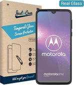 Just in Case Tempered Glass Motorola One Macro Protector - Arc Edges