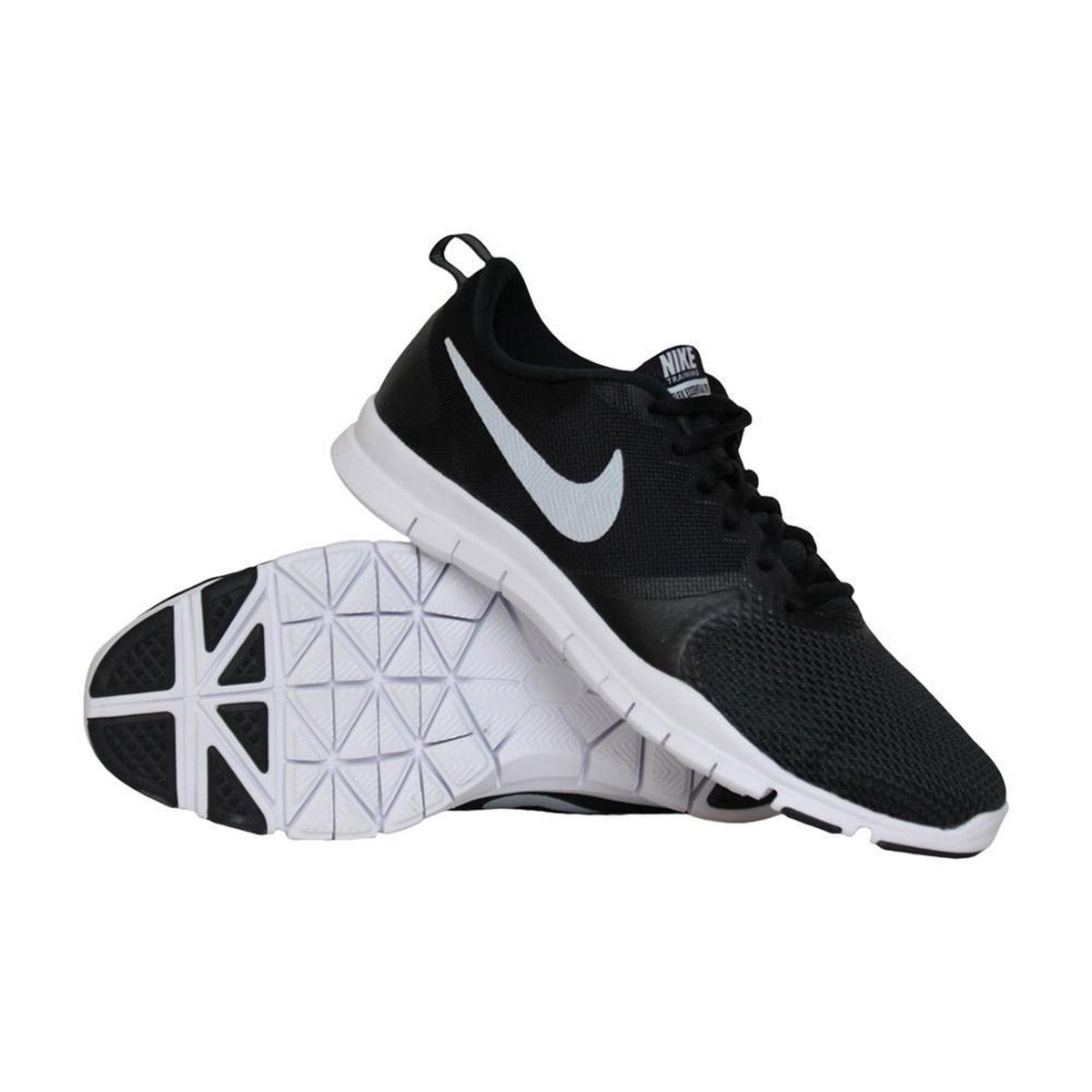 | Nike Flex Essential fitnessschoenen dames zwartwit