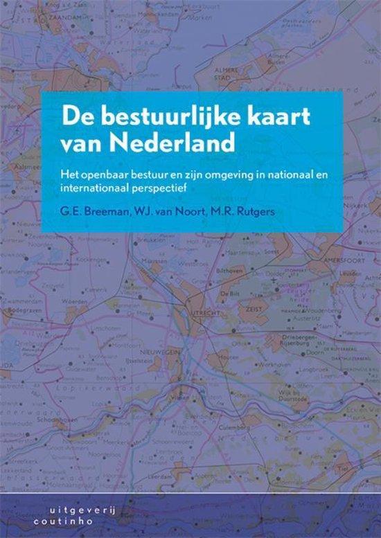 Boek cover De bestuurlijke kaart van Nederland van G.E. Breeman (Paperback)