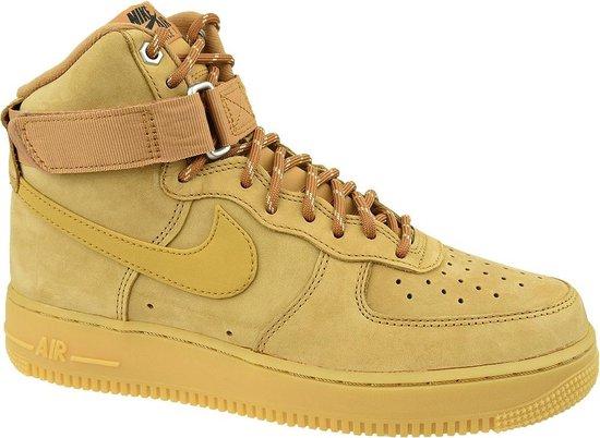 Nike Air Force 1 High '07 WB CJ9178 200, Mannen, Bruin, Sneakers maat: 44 EU