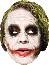 Kartonnen Joker™ Dark Knight masker - Verkleedmasker
