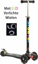 2Cycle Step - LED Wielen - Zwart - Autoped - Scooter