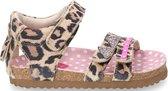 Shoesme Meisjes Sandaal - Leopardo - Maat 24