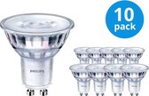 Voordeelpak 10x Philips CorePro LEDspot MV GU10 3.5W 827 36D | Zeer Warm Wit - Vervangt 35W