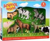 Animal World boerderijdieren assortiment in doos