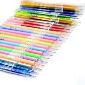 Afbeelding van 4artz® set van 48 gelpennen - metallic, fluoriscerend, diverse kleuren