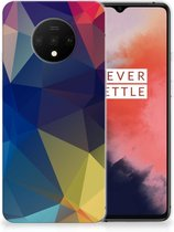 TPU Hoesje OnePlus 7T Polygon Dark