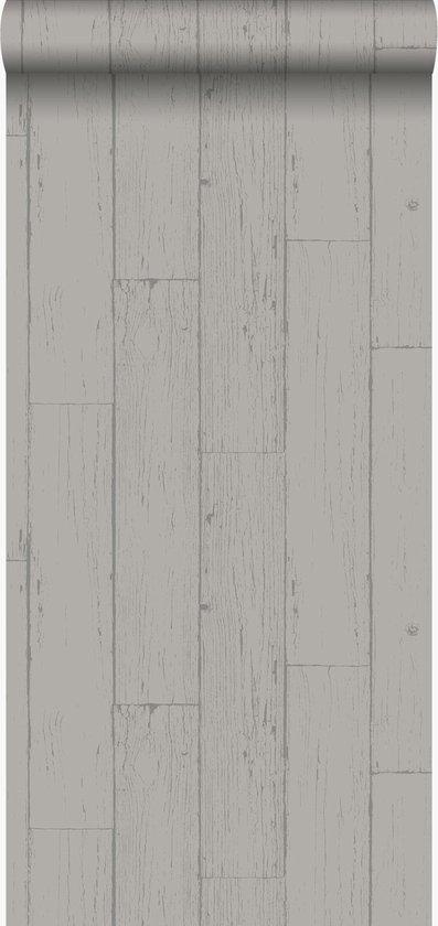 Wonderbaar bol.com | Origin behang verweerde houten planken taupe | 347538 AJ-03