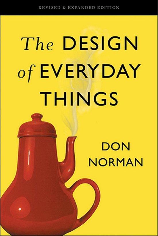 Boek cover The Design of Everyday Things van Don Norman (Onbekend)