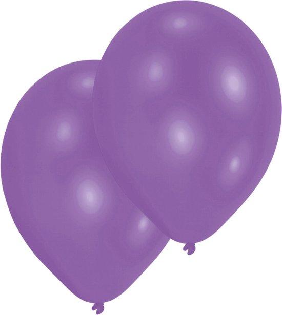 Amscan Ballonnen 27,5 Cm Metallic Violet 10 Stuks