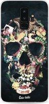 Samsung Galaxy S9 Plus hoesje Vintage Skull Casetastic Smartphone Hoesje softcover case