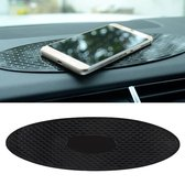 Auto Auto Ovaal Soft Rubber Dashboard Antislip Pad Mat voor telefoon / GPS / MP4 / MP3, Afmetingen: 30 * 9.5cm