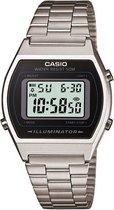 Casio Collection B640WD-1AVEF - Horloge - Staal - Zilverkleurig  - Ø 35 mm
