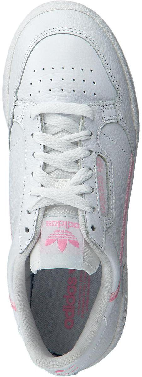 Adidas Dames Lage sneakers Continental 80 W - Wit - Maat ...