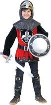 Middeleeuwse & Renaissance Strijders Kostuum | Kentgeenvrees Ridder | Jongen | Maat 116-140 | Carnaval kostuum | Verkleedkleding