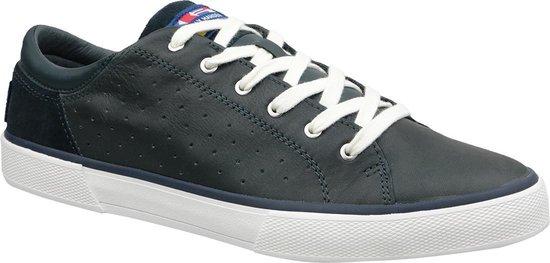 Helly Hansen Copenhagen Leather Shoe 11502-597, Mannen, Marineblauw, Sneakers maat: 46 EU