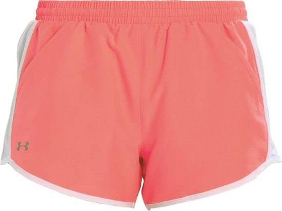 Under Armour Fly By Short 3'' 1297125-819, Vrouwen, Roze, Sportbroeken maat: XS EU