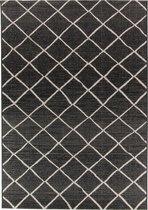 Vloerkleed Brinker Creations Black Silver   160 x 230 cm