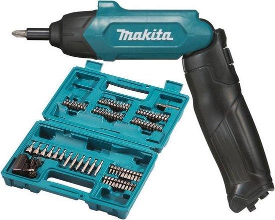 Makita DF001DW Accu Schroefmachine - 3,6 V - Incl. 81 accessoires