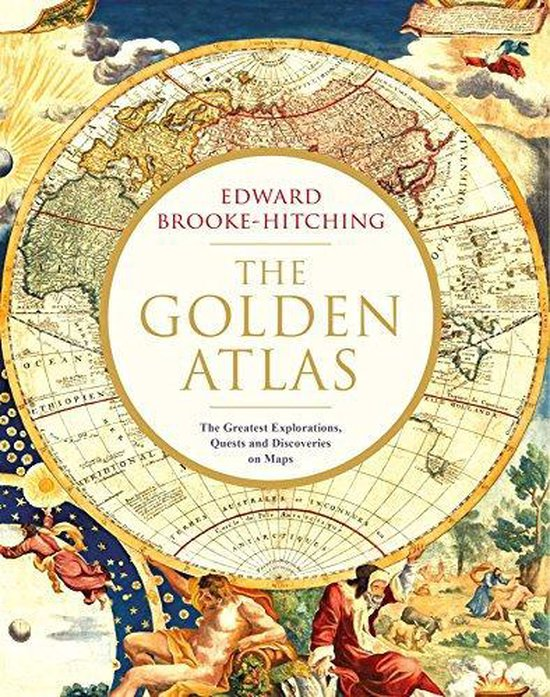 Boek cover The Golden Atlas van Edward Brooke-Hitching (Hardcover)
