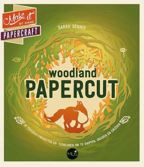 Make it - Woodland papercut - Sarah Dennis | Readingchampions.org.uk