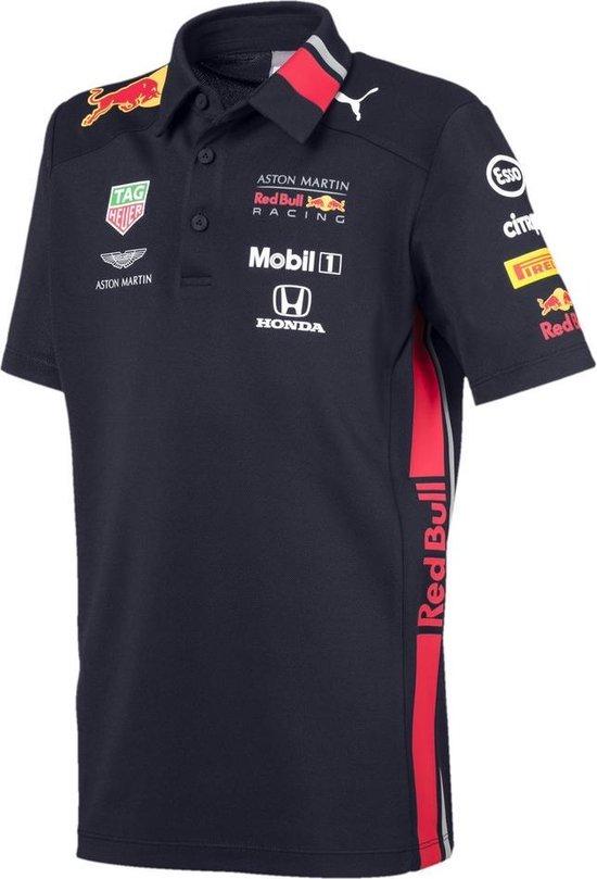 PUMA Red Bull Racing Team Polo Shirt Kinderen - NIGHT SKY